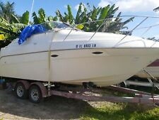 2001 MAXUM 24SCR CABIN CRUISER MERCRUISER 5.0 EFI WITH LOW HOURS