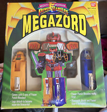 MIGHTY MORPHING POWER RANGERS 1993 MEGAZORD IN BOX VINTAGE GARAGE SELL
