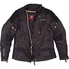 Hein Gericke Adult Women's Carry Denim Textile Motorcycle Riding Jacket XLarge