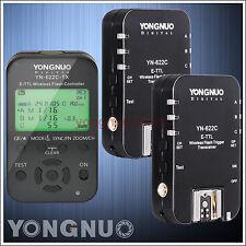 Yongnuo YN-622C-TX + YN-622C Wireless TTL Flash Controller Trigger for Canon