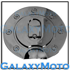 97-03 FORD F150 F-150 Triple Black Chrome Plated ABS Gas Fuel Door Cover