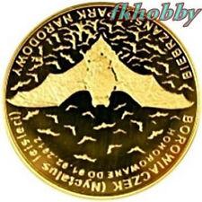 Polonia 2011 coins 10 Miedz. Nietoperz Bat Animals Tiere Butterfly Bison od