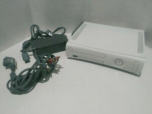 Microsoft Xbox 360 Arcade Console 256MB-With Cables & Power Supply-No Controller