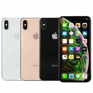 Apple iPhone XS Max 64GB 256GB 512GB Unlocked Smartphone