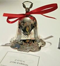2006 Towle Silversmiths Grand Baroque Bell Limited 27th Edition Silver Plate Nib