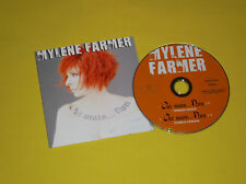 CD SINGLE MYLENE FARMER OUI MAIS NON TBE