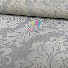 Marburg Empire Venise Papier peint Damas tissu texturé motif Metalique 57453
