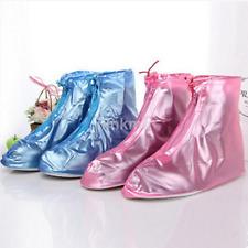 Zipper Anti-Slip Waterproof Shoe Covers Rain Boots Overshoes Reusable US