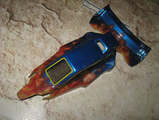 Vintage RC Losi TLR 22 Buggy Mid Motor Body and Wing Custom Painted See Notes