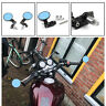 "BLACK 7/8"" HANDLEBAR BAR END MIRRORS FOR TRIUMPH BONNEVILLE SPEED TRIPLE TIGER B"