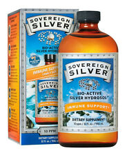 Sovereign Silver Bio-Active Colloidal Silver Hydrosol 10 ppm - 32 oz./946 ml