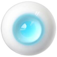 [Pf] Et08# 10mm Light Blue Pupil Sd Dz Dod Luts Bjd Dollfie Glass Eyes Outfit