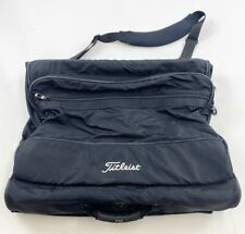 Titleist Golf Garment Coat Hanging Travel Bag Luggage Travel W/ Shoes Storage