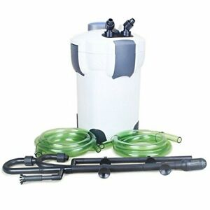 SunSun HW-304B 5-Stage External Canister Filter with 9W UV Sterilizer 525 GPH