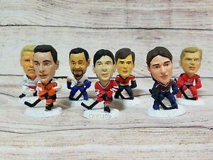 "1997 NHL 3"" Corinthian Headliners NHLPA loose figures Roy Chelios Fuhr Lot of 7"