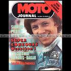 MOTO JOURNAL N°394 RALLYE PARIS-DAKAR BULTACO 125 TROPHY HONDA CB 125 T 1979