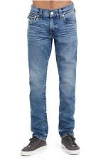 True Religion Men's Skinny Flap Fossil Silk Big T Jeans Size 40 Desperado Ride
