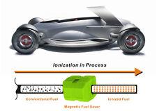 2 pairs Magnetic Fuel saving 25% HEATING OIL BIO DIESEL PETROL CO2 ENGINE