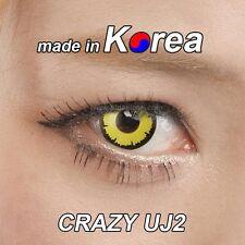 eye color contacts lenses Crazy Halloween Cosmetic circle contact lens gray U8