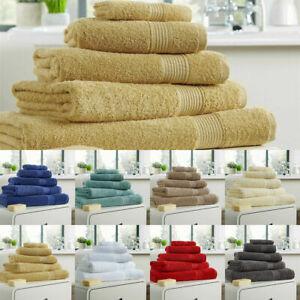 Hampton Hand Towels / Bath Sheets 100% Egyptian Cotton Super Soft & Absorbent