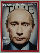VLADIMIR PUTIN PERSON OF THE YEAR TIME MAGAZINE COVER PHOTO ON 4X6 NOT MAGAZINE