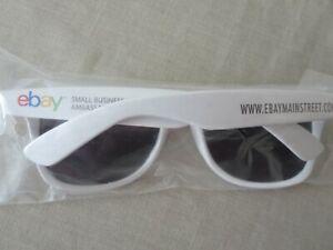 Rare eBay Open 2016 Main Street Sunglasses 1 Pair New White Logo Ebayana