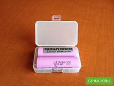 3x Samsung 30Q 3000mAh 15A 18650 IMR Rechargeable Battery Li-ion INR18650-30Q