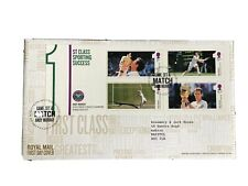 GB QEII 2013 Andy Murray Minisheet RMFDC Tallents House SHS Typed Add W/Ins