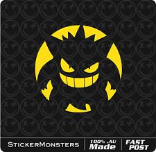 Pokemon Go! Vinyl Decal Car Sticker 120mm Round Pikachu Charmander Squirtle MBP