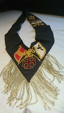 Vintage Masonic Regalia Rose Croix 30th Degree Sash