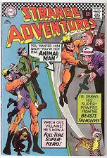 Strange Adventures #195, Dc 1966, Vf/Vf+ Condition, Animal Man