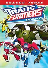 TRANSFORMERS ANIMATED: SEASON THREE 3  - DVD - Region 1 Sealed
