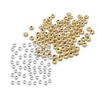 Gioielli Creazione Accessori Branelli Distanziatori di Cristallo Argento Oro