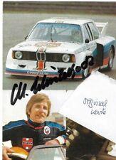 Manfred Winkelhock, BMW- Junior tolle alte Karte,original unterschrieben,
