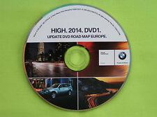 DVD NAVIGATION DEUTSCHLAND + EU 2014 BMW ROAD MAP HIGH E39 E46 E52 E53 E83 SA609