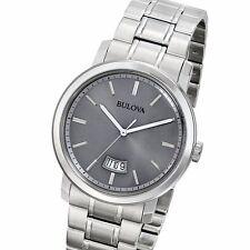 Bulova Dress Grey Dial Stainless Steel Men's Watch 96B200