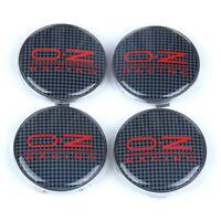"""4x 68mm 2.68"""" Car Wheels Center Hub Caps Cover Badge Emblem Fit RACING OZ"""