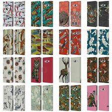 Official Sharon Turner Animals Leather Book Wallet Case For Samsung Phones 3
