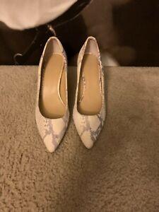 Michael Michael Kors Multicolor Snakeskin Shoes Sz.11