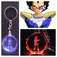 Dragon Ball Dragonball Z Super Saiyajin Vegeta Crystal Key Chain Keyring Pendant