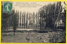 cpa JUVISY sur ORGE (Essonne) Le MIROIR Tableau VAN DER MEULEN BARON de BOUTRAY