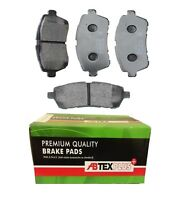 ABTEX PLUS DISC BRAKE PADS FRONT FITS FORD FIESTA MAZDA 2