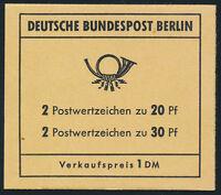 BERLIN 1970, MH 7 b, tadellos postfrisch, Mi. 70,-