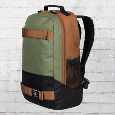 DC Shoes skate mochila Grind backpack Board-soporte verde oliva portátil Notebook especializados