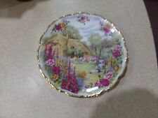 Royal Albert Bone China Tranquil Garden 30th Anniversary Old Country Roses Plate