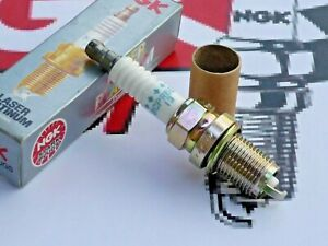 1 original NGK BCPR6EP-13 (3837) Laser PLATINUM spark plug NEW in BOX NOS