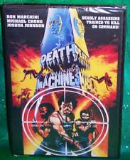 BRAND NEW RARE OOP CODE RED DEATH MACHINES DEADLY ASSASSINS CULT MOVIE DVD 1976