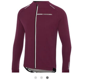 madison sportive men's softshell jacket classy burgundy, Size Uk Large, Lot M26