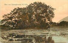 Dutch East Indies Leles Garut Regency Java Indonesia Meer Van Tjitjangkowang