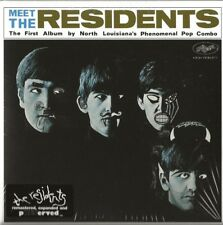 THE RESIDENTS - MEET THE RESIDENTS (1974) DEBUT - 2CD - 2018 REISSUE
